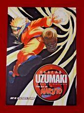 Naruto: The Art of Naruto :Uzumaki 1,Masashi Kishimoto,1st ED,1st PR,HC,VG,FR SH