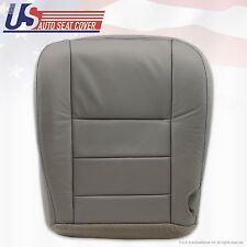 2002 03 04 05 06 07 Ford F250 F-350 Lariat Bottom Seat Cover Gray All Vinyl