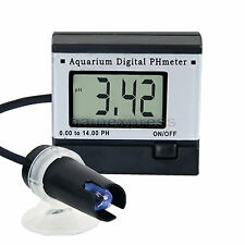 Digital pH Monitor Meter Tester 0.00~14.00pH + 2 Buffer solutions Accuracy ±0.1