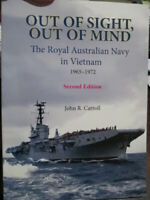 History Royal Australian Navy Vietnam War 1965-72 2nd ed Out Of Sight Book New