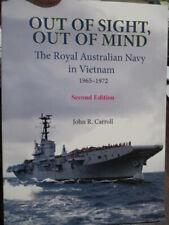 History Royal Australian Navy Vietnam War 1965-72 2nd ed Out Of Sight Book New