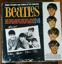 THE BEATLES   ''    SONGS , PICTURES  & STORIES ''    VJLP-1092       1964