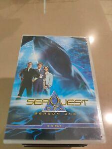 SeaQuest DSV - Season 1  DVD   6 disc set  Region 4