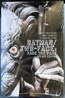 Batman Two-Face : Face the Face Deluxe Edition (2017, Hardcover) New Sealed
