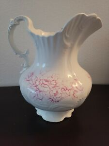 C.P.  Co. Vintage Porcelain Water Pitcher