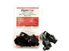 2 YKK Vislon #10 Slider Pull type Plastic AUTOMATIC LOCK Top Stoppers ZIP KIT