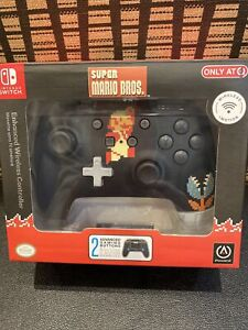 PowerA Retro 8-Bit Super Mario Wireless Controller for Nintendo Switch