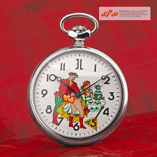Vintage Pocket Watch Erotic Watch Loving Couple Analog Molnija 3602 Jl Romantic