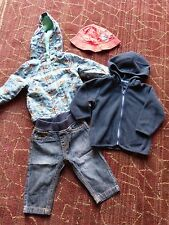 Baby Boy Giacca Jeans Maglione Cappello Bundle 3-6 mesi M&CO Mothercare George