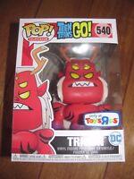FUNKO Pop Teen Titans Go! #540 TRIGON Toys R Us TRU Exclusive NEW in hand