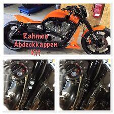Schrauben Abdeckung Rahmen+Motor Cover Kit-Black,V-Rod,Night Rod Special,Street