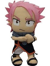 """Official Fairy Tail Anime Natsu Dragneel Fire Dragon Slayer Mage 8""""  Soft Plush"""