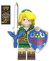 Cartoon The Legend of Zelda Link Game Figures Shield Sword Archer Weapon Sonic