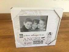 Always An Angel Art Deco Wood Photo Frame