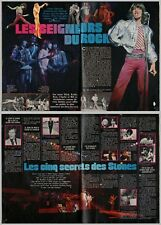 1976 DOCUMENT (TIH 054) GROUPE LES ROLLING STONES  4PAGES