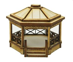 BS004 Small Bandstand OO Gauge Model Laser Cut Kit