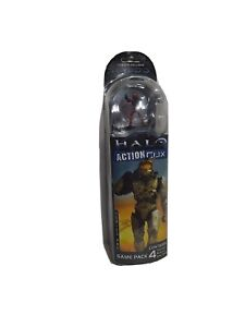 Halo 3 Series one Action Clix 4 Collectible Miniatures new.
