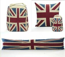 Vintage Union Jack Cushion or Cover  Door Stop and Draught Excluder