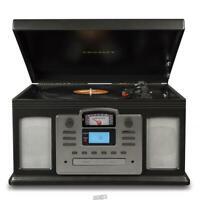 The LP/Cassette to CD Audio Enhancing Converter (Black) CROSLEY digital audio