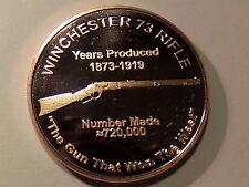 NEW 20 Ounces Of Copper 1 oz WINCHESTER 73 RIFLE Design Bullion Round C128