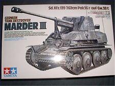 35248,Tamiya 1:35, SdKfz.139 Marder III, WWII,GMKT World of War II,Plastikmodell