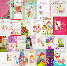 Daughter / Daughter-in-Law Birthday Cards - Various Designs Available