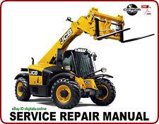JCB 525-58 525-67 Telescopic Handler Service Repair Manual CD