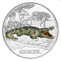3 Euros Commémorative Autriche 2017 Colourful Creatures Krokodil / Crocodile