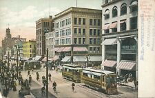 ROCHESTER NY – Main Street looking West – udb (pre 1908)