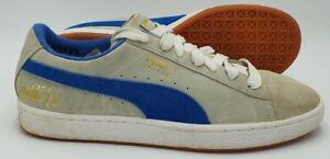 Puma Suede X Bobbito Garcia Low Trainers 366366 02 Grey/Blue UK8/US9/EU42