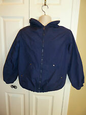 Youth Boys or Girls Rothschild Sport Hooded Nylon Lined Jacket Youth XL 16 Navy