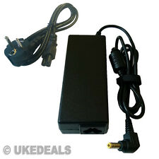 Para Toshiba Satellite Pro l450d-12x portátil cargador adaptador Reino Unido UE Chargeurs