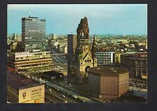 BERLIN (ALLEMAGNE) Siege SPIELT LOTTO , TOUR MERCEDES & EGLISE , début 1970