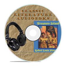 TREASURE ISLAND, ROBERT LOUIS STEVENSON, MP3 CLASSIC AUDIOBOOK LITERATURE CD-A36