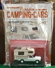 CAMPING CARS 1/43e - PEUGEOT 504 DANGEL -AZUR- de 1983 #8 NEUF COMPLET