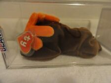 "Authenticated Ty Beanie Baby 1ST GEN CHOCOLATE ""KOREAN"" !!!!!!!"