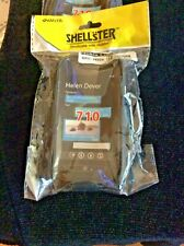 NEW AMZER BLACK SHELLSTER SHELL CASE & HOLSTER W/ BELT CLIP FOR NOKIA LUMIA 710