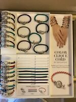 NWT - BRIGHTON Color Clique Ornaments And Color Clique Cords