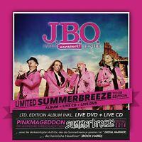 J.B.O. - NUR DIE BESTEN WERDEN ALT-TOUR EDITION 2 CD + DVD NEU