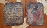 Buddhist Painting/Holy Scripture on Parchment Paper--Most Likely Mongolian
