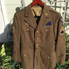 WWII Combat Air Crew AAF Uniform