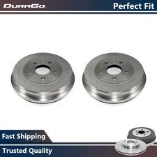 Durago Pair Rear Brake Drums For Ford Focus 2012 2013 2014 2015 2016 2017
