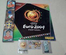 Mancolista Album figurine calciatori Euro 2004 da recupero a soli €0,20