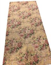 "One Pair 2 Panels Croscill 87""X40"" Curtains Floral Pattern Lined Drapes"