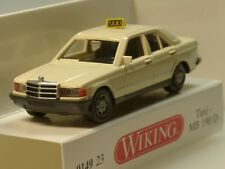 Wiking Mercedes 190 D TAXI - 0149 23 - 1:87