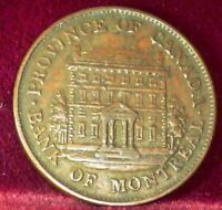 1844  BR# 527 , BANK OF MONTREAL ,  TOKEN , CANADA