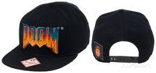 Doom- Logo Snapback Apparel Hat ONE SIZE - Black