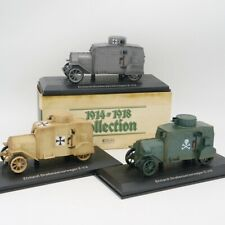 Atlas 1:43 Ehrhardt Strabenpanzerwagen E-V/4 WWII Military Vehicle Toy 1 pcs