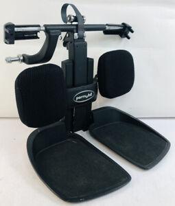 Permobil 3G Corpus F3 M3 Center Mount Elevate Leg Lift Footrest Foot Plate