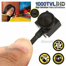 1000TVL HD Small Mini CCTV Security Surveillance Audio Hidden Indoor Spy Camera
